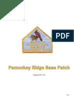 pamunkey ridge base patch