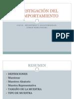 INVESTIGACIÓN DEL COPMPORTAMIENTO CAP 8