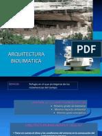 Tema 01- Arquitectura Bio Climatic A. Introduccion