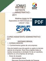 Curso de Assistente Administrativo - Aula 1
