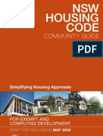 Draft Nswhousingcode Community Guide