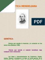 III A Historia Genética Mendeliana