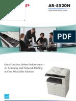 AR5520N Brochure