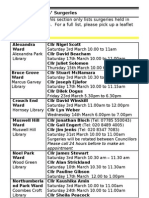 What's on in Haringey Libraries March 2012