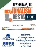 Annual Meeting Presentation - Regionalism Restated FINAL