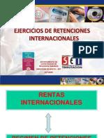 Ejercicios de Retenciones Internacionales