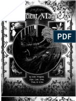 Ancient Magic. Ars, Magica, Fantasy, Role Playing.