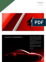 Aston Martin V12 Zagato Brochure