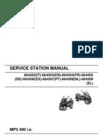 Manual MP3 400