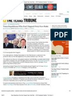 Texas Republicans Who Don't Support Perry Face Risks — 2012 Presidential Election _ The Texas Tribune