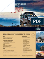 LandRover Defender Bolivien Edition Folder
