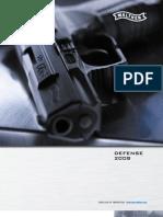 Walther Defense Katalog 2008 de En