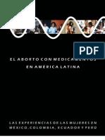 El aborto con medicamentos en américa latina