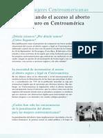 Incrementando el acceso al aborto legal y seguro en Centroamérica