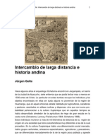 Golte-Intercambio Larga Distancia