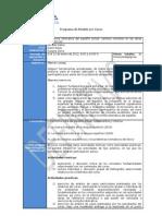 Formato Programa de Módulo Norma idiomática del español actual