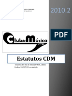 Estatutos CDM V3.1