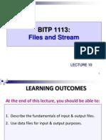 Lab 11 Input Ouput Files