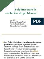 8 Disciplinas de Un Problema