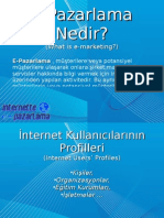 E-Marketing (E-Pazarlama)