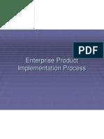 Enterprise Product Implementation Process