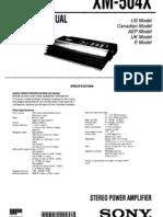 Sony Xm 504x