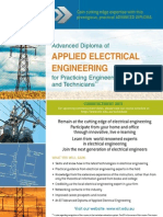 Advanced Diploma of Applied Electrical Engineering