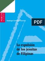 expulsión jesuitas filipinas