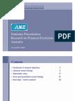Financial Exclusion Summary Presentation