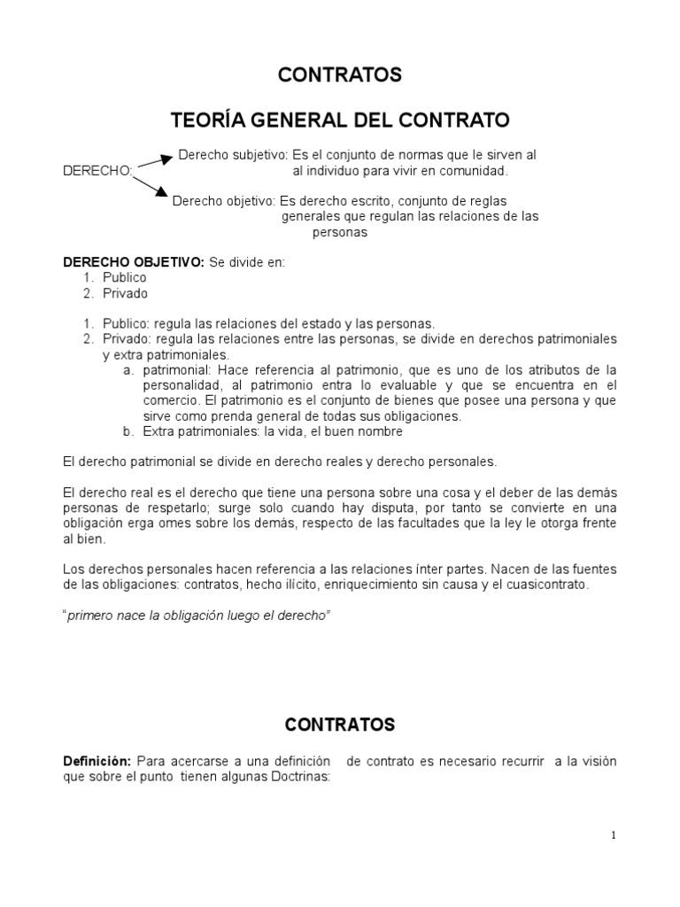 Teoria general y especial de los contratos en colombia for Validez acuerdo privado clausula suelo