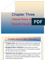 Interest Rate Valuation
