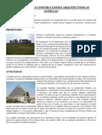 Historia de Las Construcciones Arquitectonicas Antiguas
