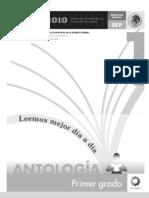 Antología Lecturas primer grado