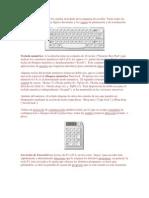 El teclado alfanumérico