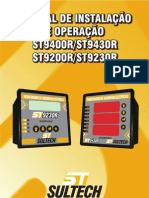 Manual de Instalação e Operação - ST92X0C.ST94X0C