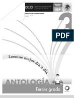 Antología Lecturas tercer grado