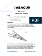 Abaqus for Offshore Structure-Cargo Crane Analysis