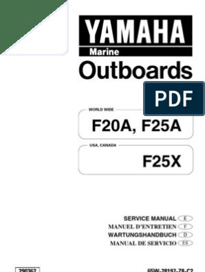 F20A,F25A(E) | Motor Oil | Carburetor