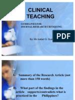 Journal Critique