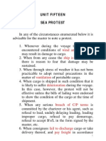 Note of Protest