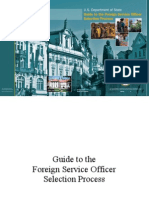 Guide to Foreign Service Officer Selection Process