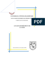 LUGAR GEOMÉTRICO DE LA RAÍZ