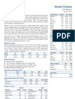 Market Outlook 9th March 2012