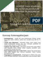 Sejarah Hubungan Ketenagakerjaan