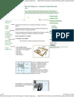 Desenho para instalação