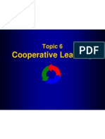 Topic 6-Cooperative Learning