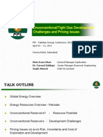 Moin_raza_khan Unconventional or Tight Gas Development Challenges and Pricing Issues