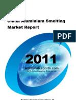 China Aluminium Smelting Market Report