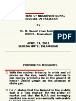 Saeed_jadoon Development of Unconventional Reservoirs in Pakistan