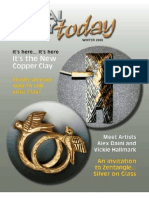 METAL CLAY TODAY MAGAZINE WINTER 2009 ISSUE